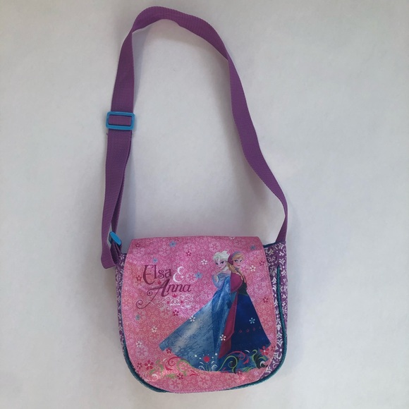Disney Frozen Elsa & Anna Purse Shoulder Strap
